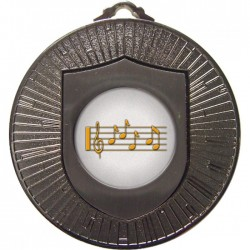Silver Music Medal 60mm