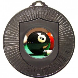 Silver Pool Medal 60mm