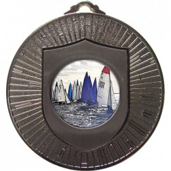 Silver Sailing Medal 60mm