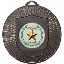 Silver Special Star Medal 60mm