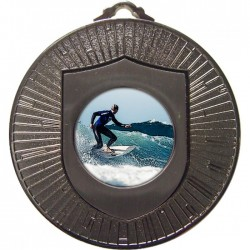 Silver Surfing Medal 60mm