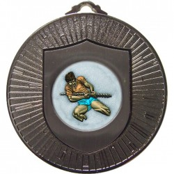 Silver Tug of War Medal 60mm