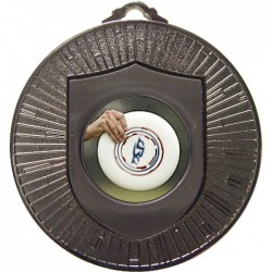 Silver Frisbee Medal 60mm