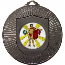 Silver Victory Male Medal 60mm