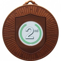 Bronze 2nd Place Medal 60mm