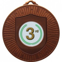 Bronze 3rd Place Medal 60mm