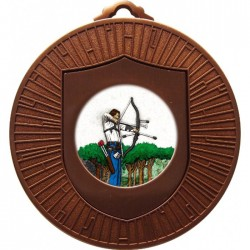 Bronze Archery Medal 60mm
