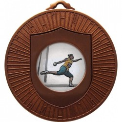 Bronze Discus Medal 60mm