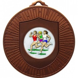 Bronze Female Athlete Medal 60mm