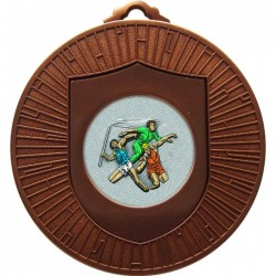 Bronze Javelin Discus Shot Put Medal 60mm