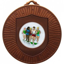 Bronze Marathon Medal 60mm
