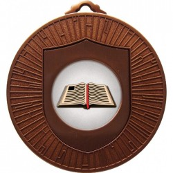Bronze Book Medal 60mm