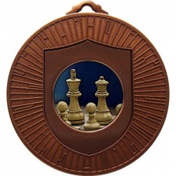 Bronze Chess Medal 60mm