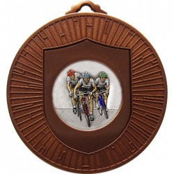 Bronze Cycling Medal 60mm