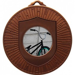 Bronze BMX Medal 60mm