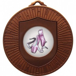 Bronze Ballet Medal 60mm