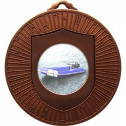 Bronze Rubber Dinghy Medal 60mm