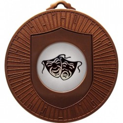 Bronze Drama Medal 60mm