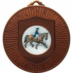 Bronze Dressage Medal 60mm