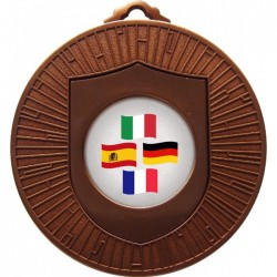 Bronze Languages Medals 60mm
