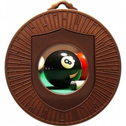 Bronze Pool Medal 60mm