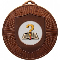 Bronze Quiz Medal 60mm