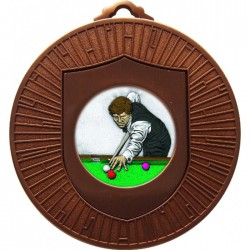 Bronze Snooker Medal 60mm