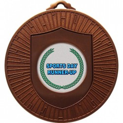Bronze Sports Day Runner Up Medals 60mm