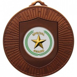 Bronze Special Star Medal 60mm