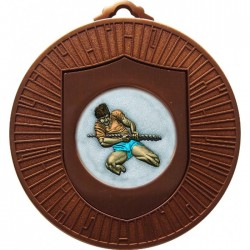 Bronze Tug of War Medal 60mm