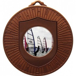 Bronze Windsurfing Medal 60mm