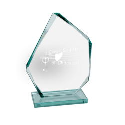 Jade Glass Ice Peak Award Small