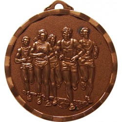 Bronze 40mm Marathon Medal