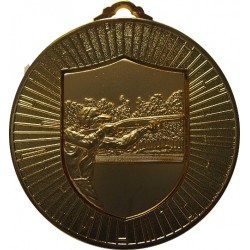 Gold 60mm Clay Pigeon Shooting Medal