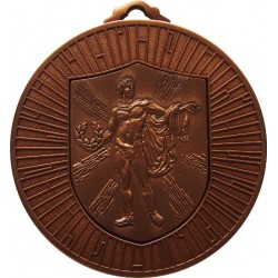 Bronze 60mm Male Victory Medal
