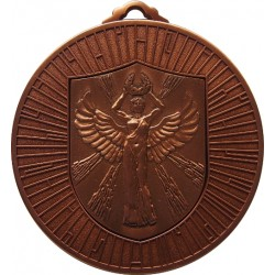 Bronze 60mm Female Victory Medal