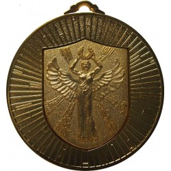 Gold 60mm Female Victory Medal