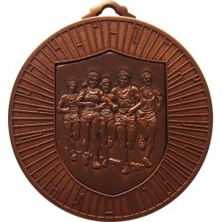 Bronze 60mm Marathon Medal