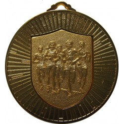 Gold 60mm Marathon Medal