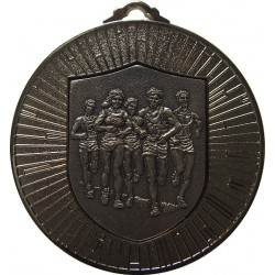 Silver 60mm Marathon Medal