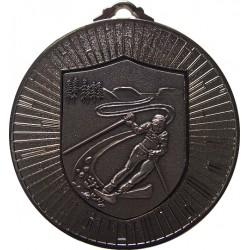 Silver 60mm Ski Alpine Medal