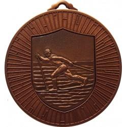 Bronze 60mm Ski Nordic Medal