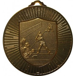 Gold 60mm Softball Medal