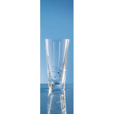 Diamante Crystal High Ball Glass