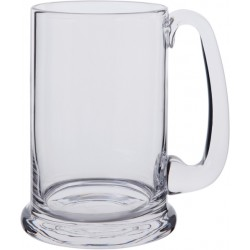 Dartington Crystal Real Ale glass Tankard with a Presentation Box