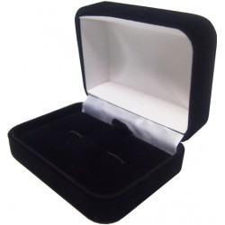 Velour Cuff Link Presentation Box