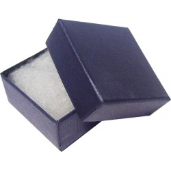 Blue 40mm Covered Badge Box