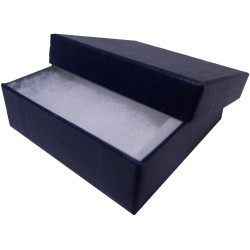 Blue 60mm Covered Badge Box
