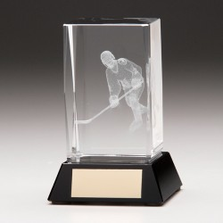 Ice Hockey Laser Block Small