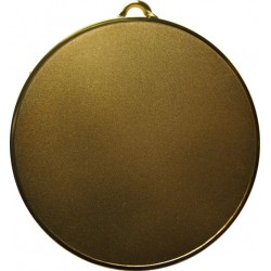 Gold 70mm Standard Medal
